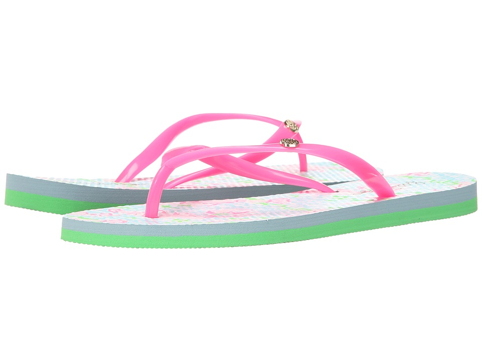 Lilly Pulitzer - Pool Flip-Flop (Spa Blue) Women