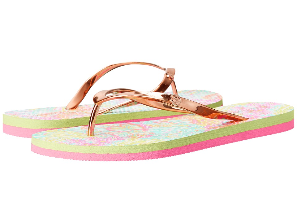 Lilly Pulitzer - Pool Flip-Flop (Seaspray) Women