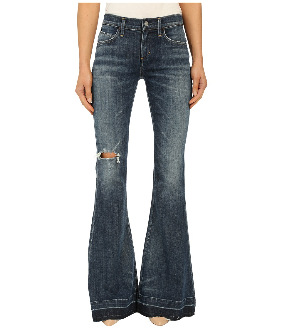 A Gold E - Madison Flare in Distressed Starwood (Distressed Starwood) Women's Jeans