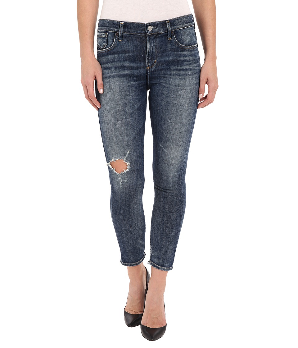 A Gold E - Sophie Crop in Distressed Starwood (Distressed Starwood) Women's Jeans