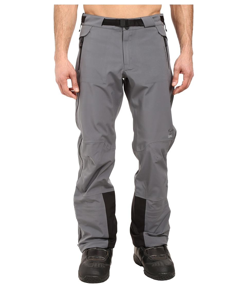 Obermeyer - Peak Shell Pants (Graphite) Men's Casual Pants
