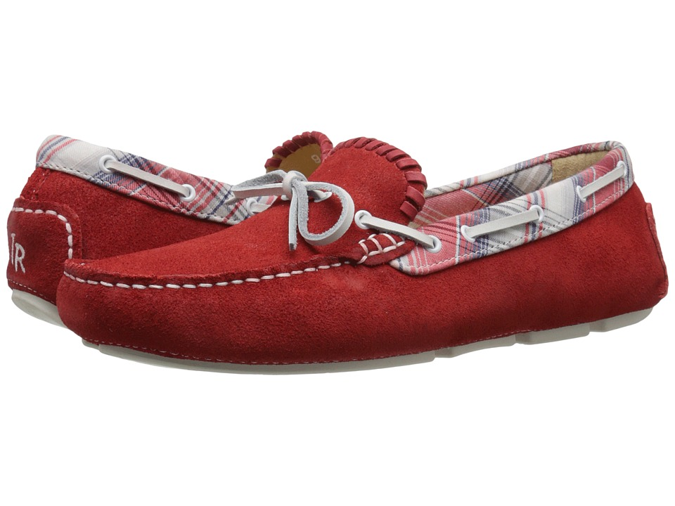 Jack Rogers - Paxton Suede (Red) Men's Slip on Shoes