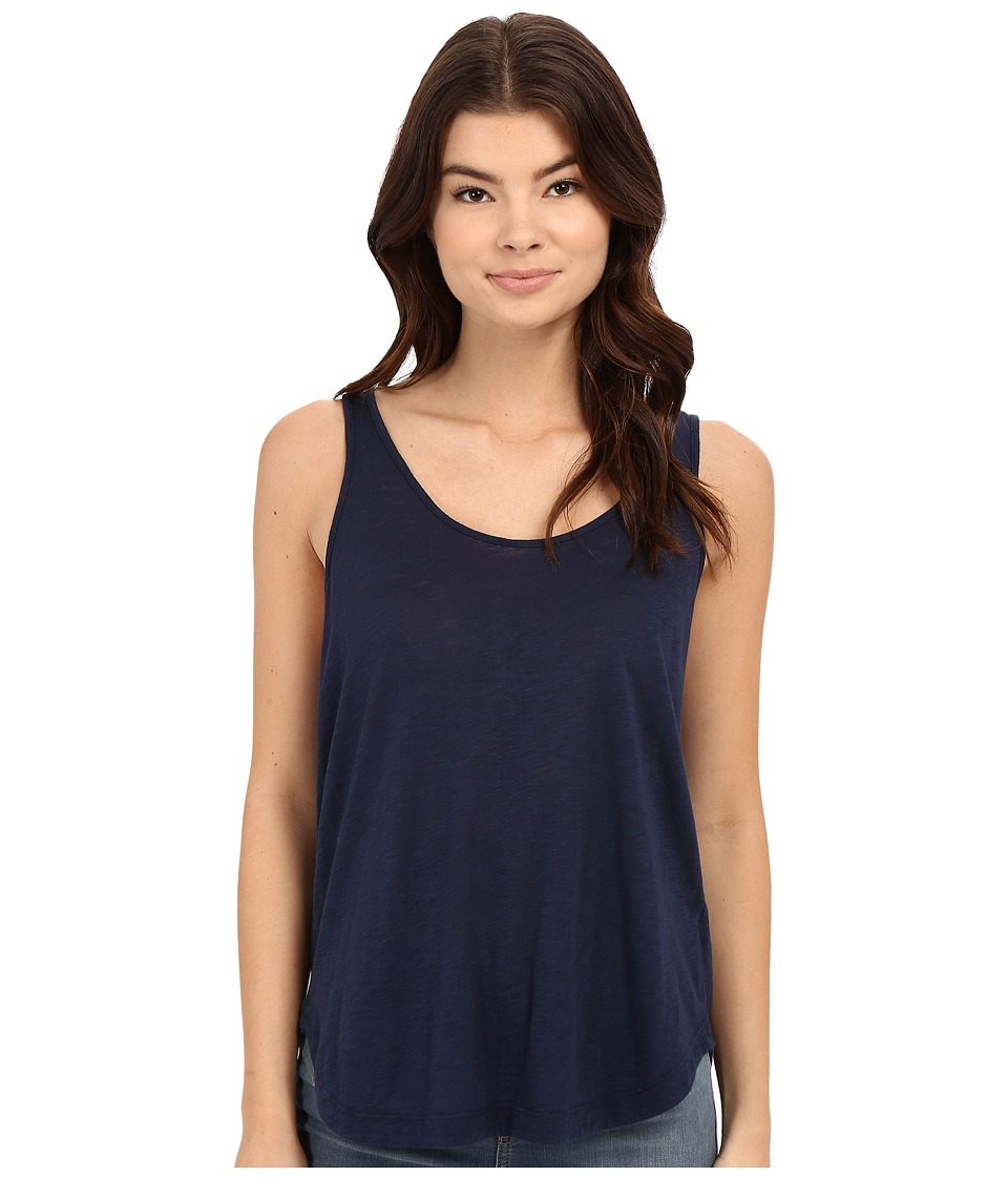 Splendid - Slub Tee Crossback Tank Top (Navy) Women's Sleeveless