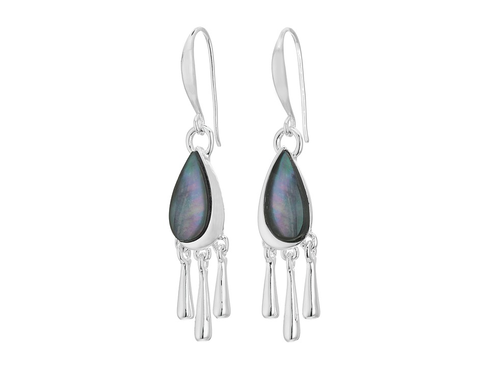 Robert Lee Morris - Black Shaky Drop Earrings (Black) Earring