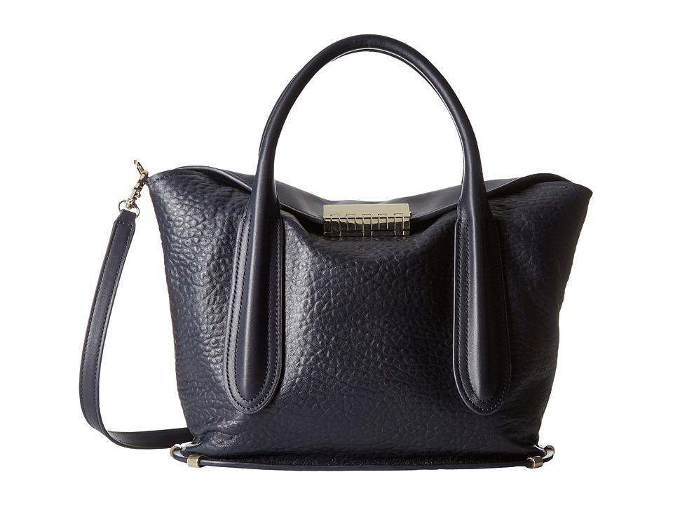 ZAC Zac Posen - Blythe Fold-Over Satchel (Lagoon) Satchel Handbags