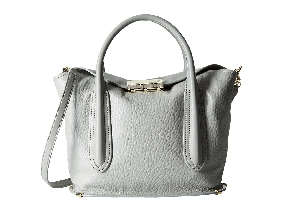 ZAC Zac Posen - Blythe Fold-Over Satchel (Elephant) Satchel Handbags