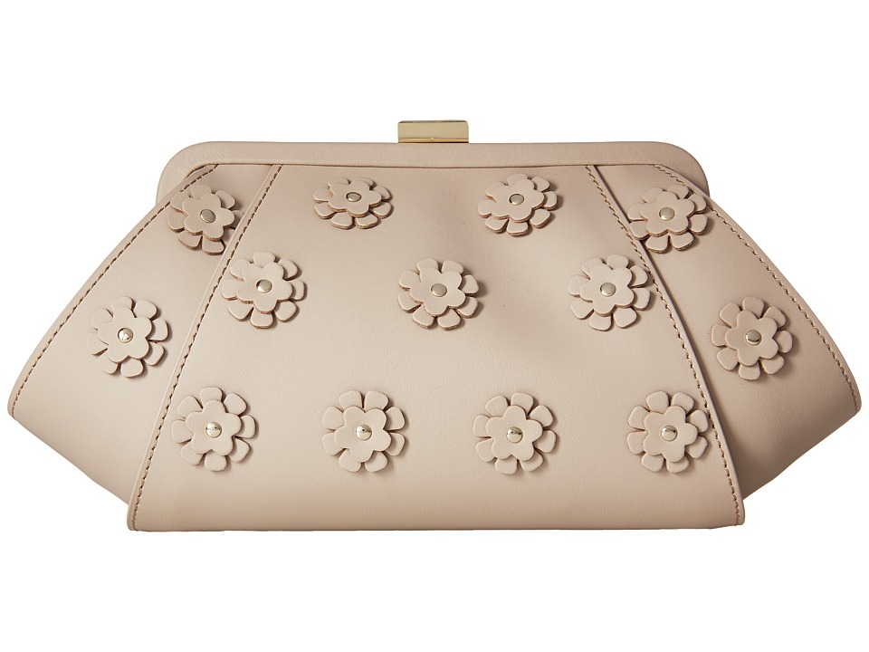 ZAC Zac Posen - Posen Clutch I (Blush) Clutch Handbags
