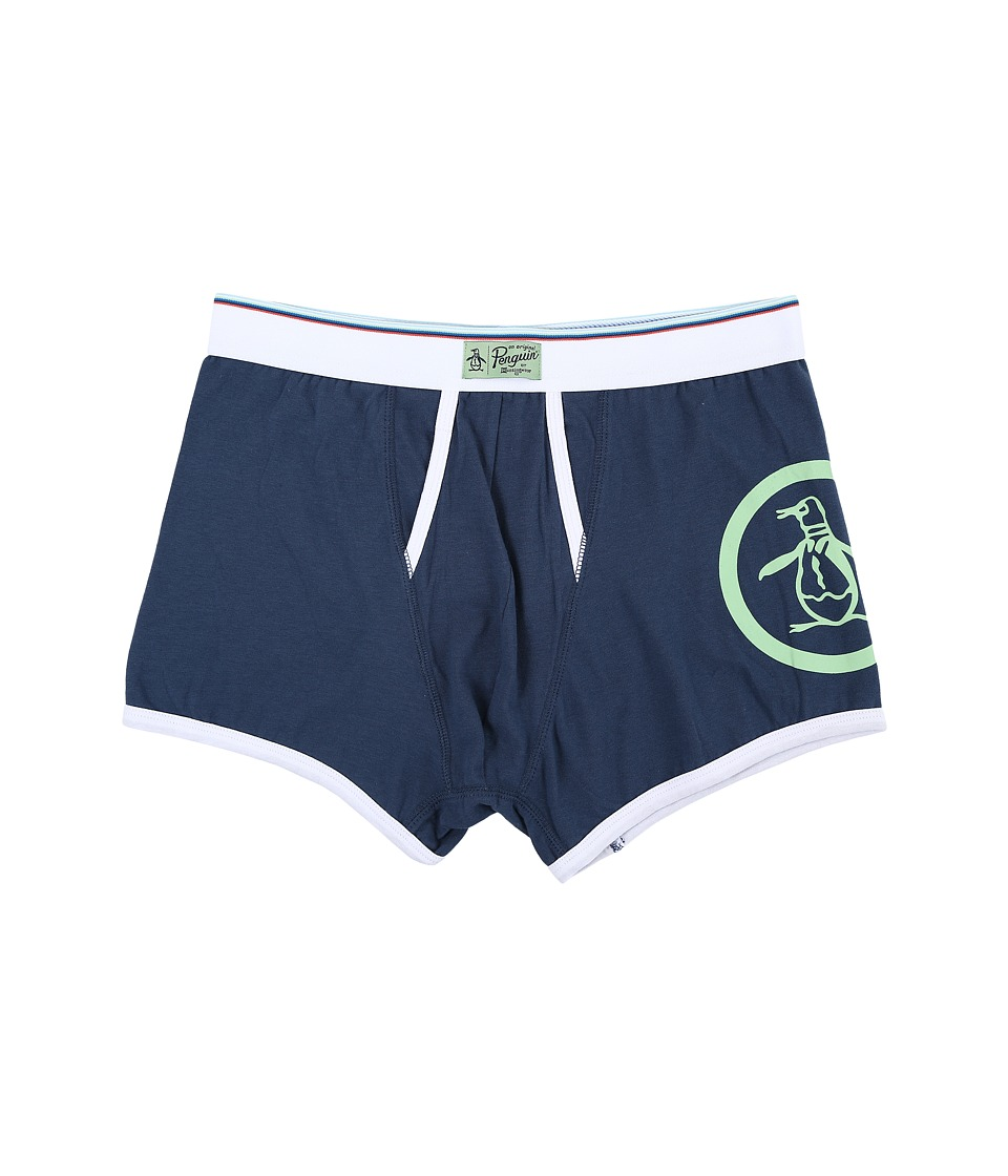 Original Penguin - Single Trunk (Dark Denim) Men's Underwear