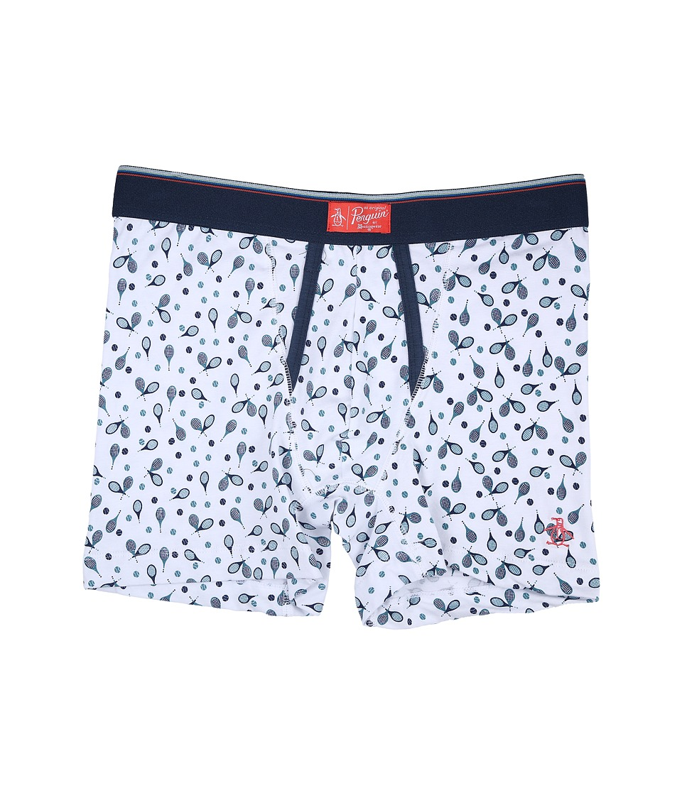 Original Penguin - Single Boxer Brief (Rackets) Men's Underwear