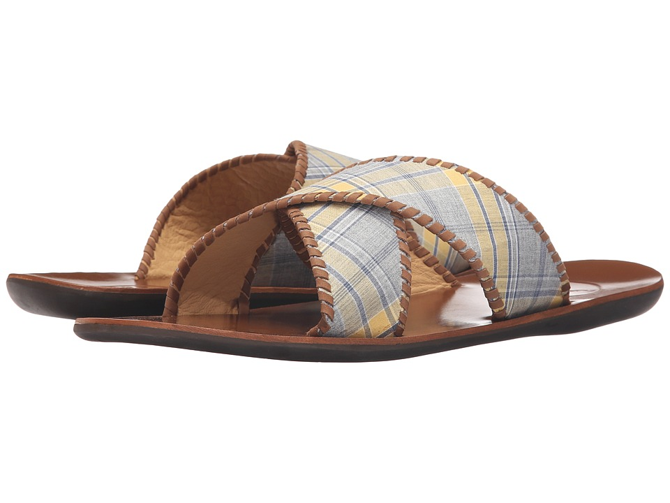 Jack Rogers Kane Plaid (Yellow/Navy) Men