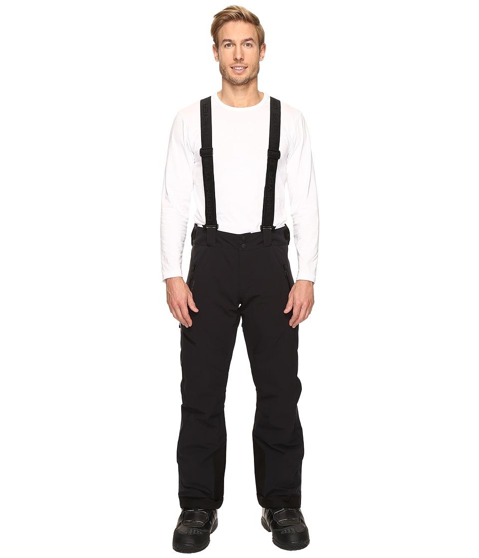 Obermeyer - Force Suspender Pants (Black) Men's Casual Pants