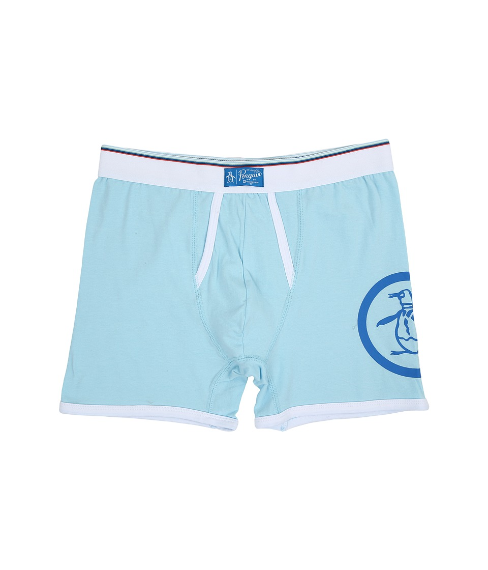 Original Penguin - Single Boxer Brief (Crystal Blue) Men's Underwear