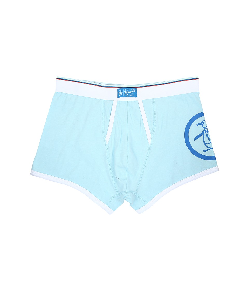 Original Penguin - Single Trunk (Crystal Blue) Men's Underwear