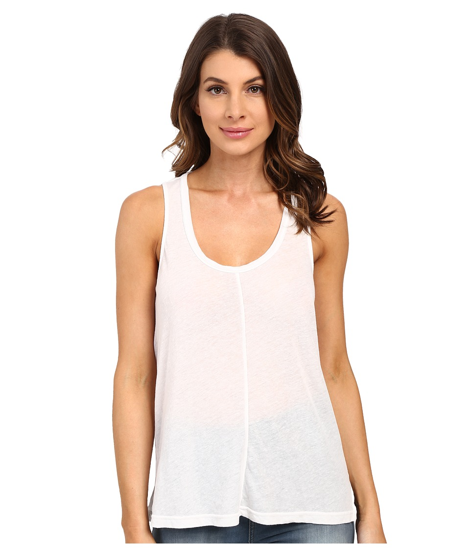 Splendid - Heathered Tank Top (White) Women's Sleeveless