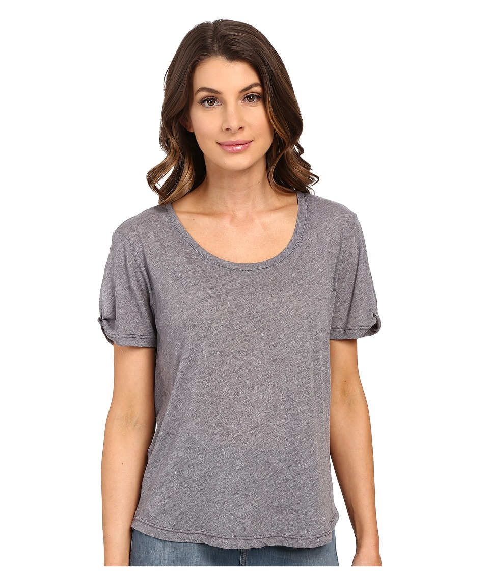 Splendid Heathered Tee (Shadow) Women