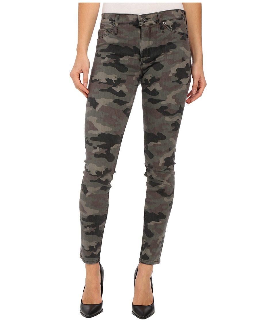 Hudson - Nico Mid-Rise Ankle Skinny in Deployed Camo (Deployed Camo) Women's Jeans
