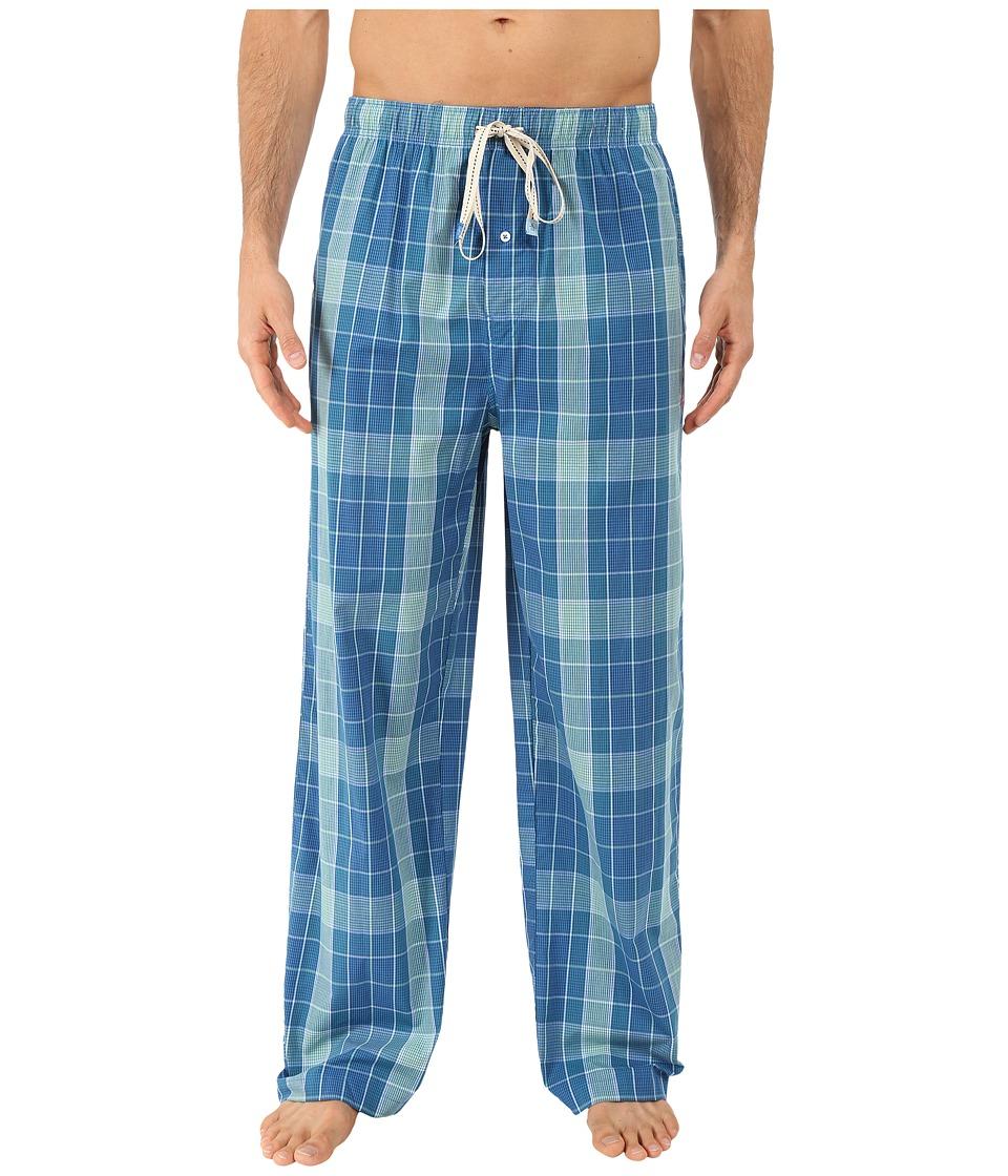Original Penguin - Single Woven Pants (Lawn Plaid) Men
