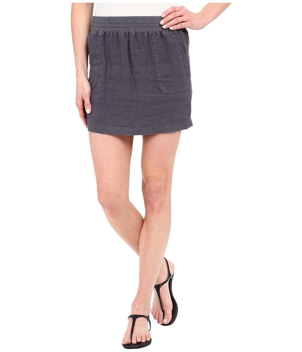Allen Allen - Short Cargo Skirt (Flint) Women's Skirt