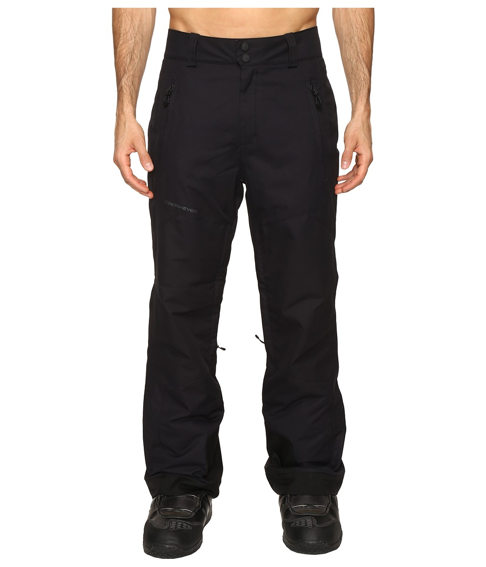 Obermeyer - Proline Pants (Black) Men's Casual Pants