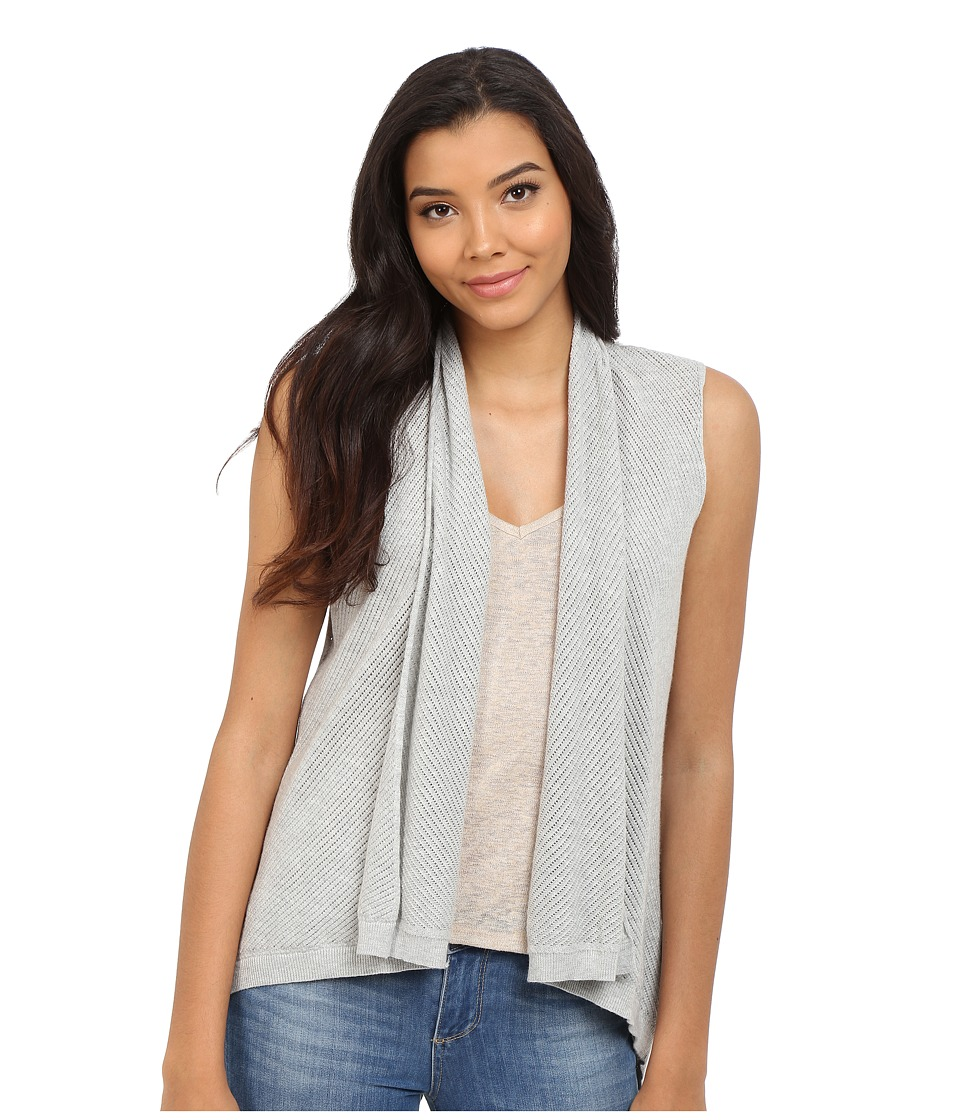 Splendid - Mariner Vest (Light Heather Grey) Women's Vest