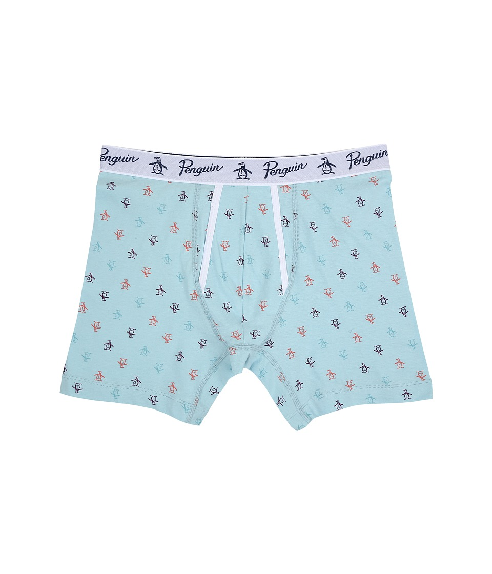 Original Penguin - Penguin Boxer Brief (Crystal Blue) Men's Underwear
