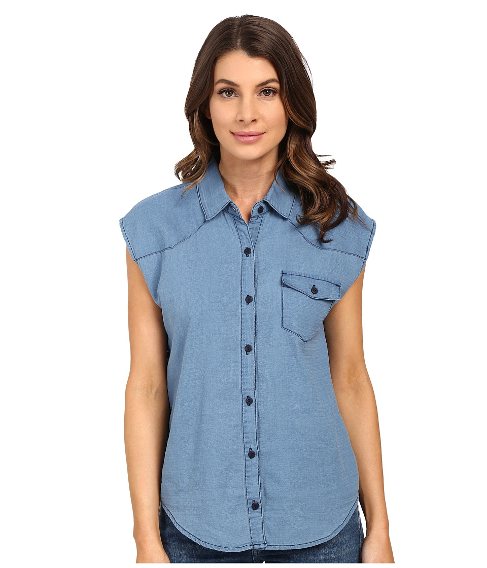 Joe's Jeans - Nash Shirt (Medium Wash) Women's Clothing