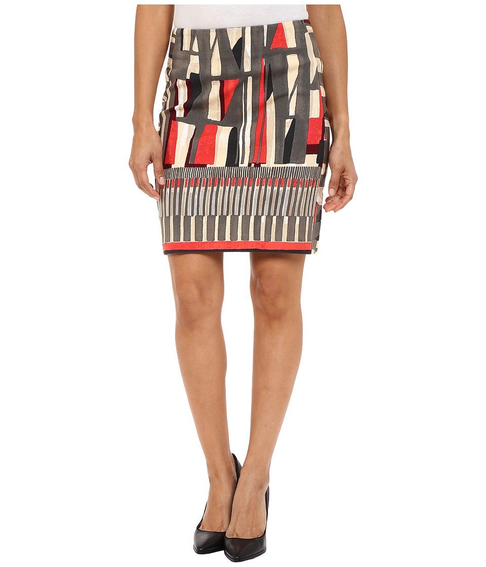 NIC+ZOE - Petite Starboard Skirt (Multi) Women's Skirt