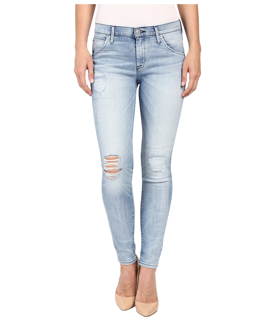 Hudson Lilly Mid-Rise Ankle Skinny with Distress in Rialto (Rialto) Women