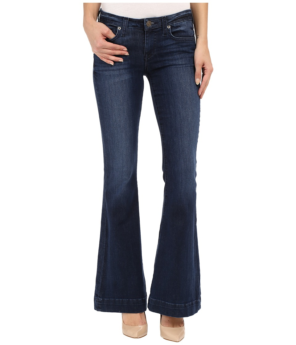 Hudson - Mia Barefoot Length Flare in Canal (Canal) Women's Jeans