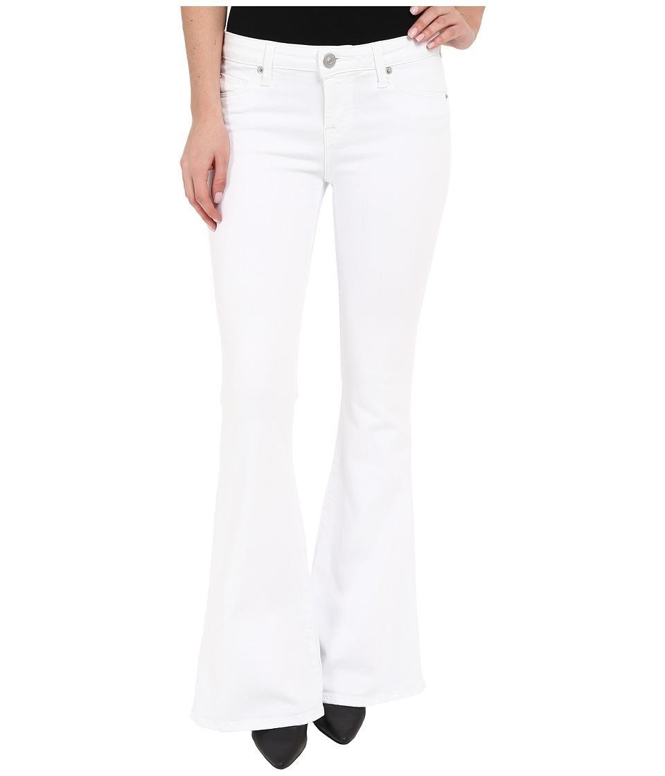 Hudson - Mia Barefoot Length Flare in White 2 (White 2) Women's Jeans