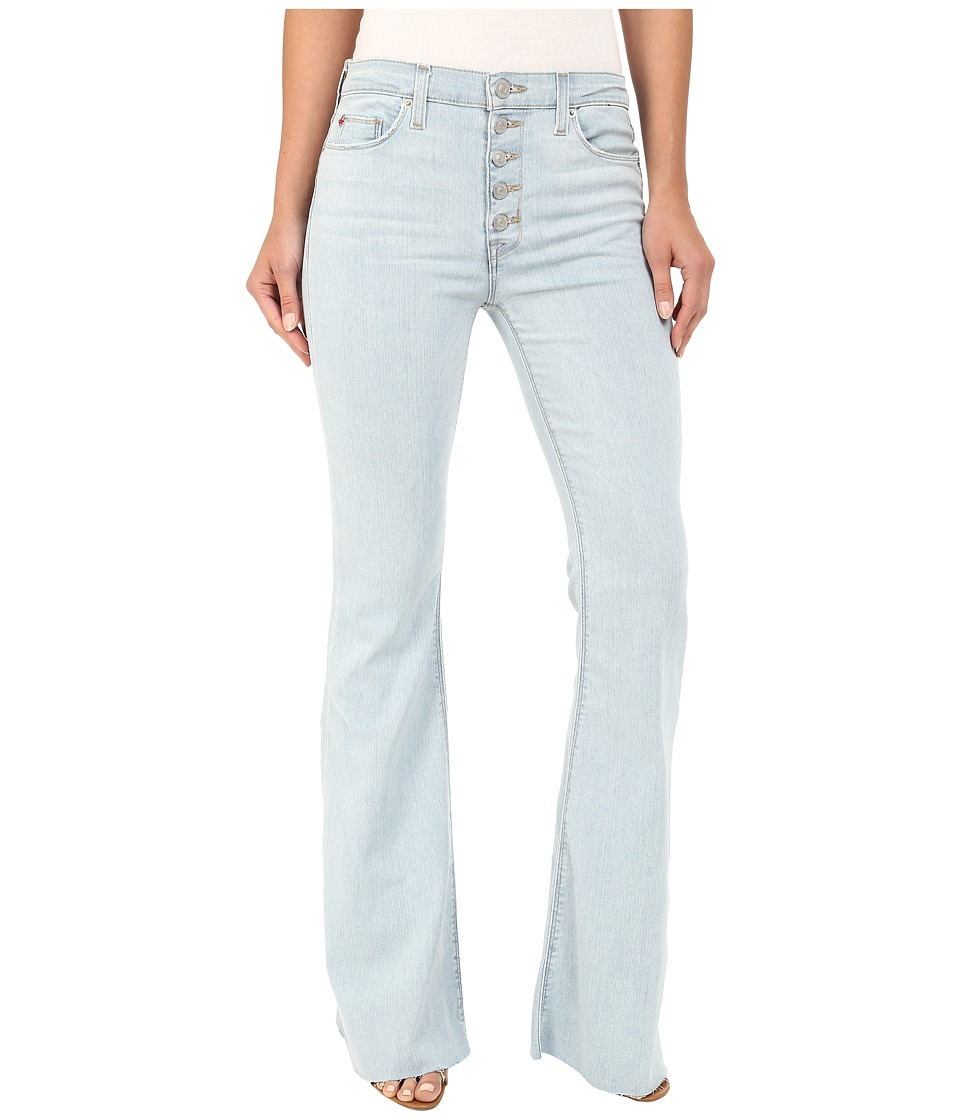 Hudson - Jodi High Waist Flare with Raw Hem in Slater (Slater) Women's Jeans