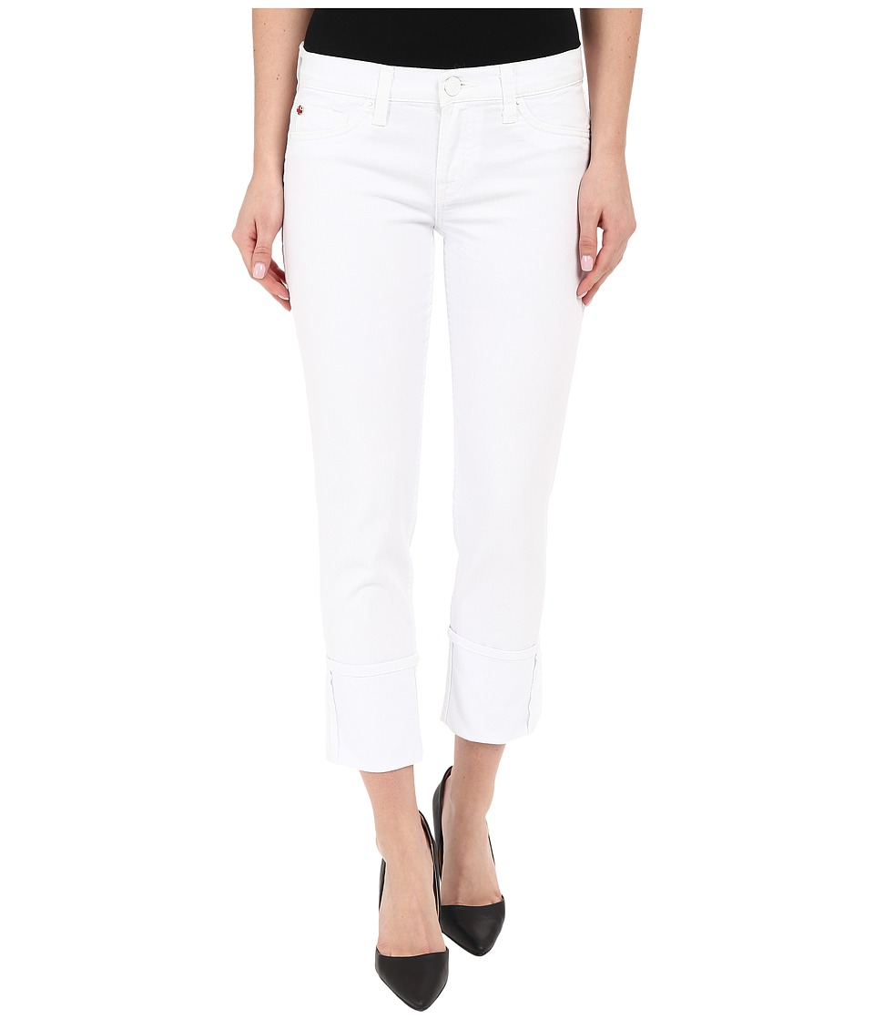 Hudson - Muse Crop in White (White) Women's Jeans