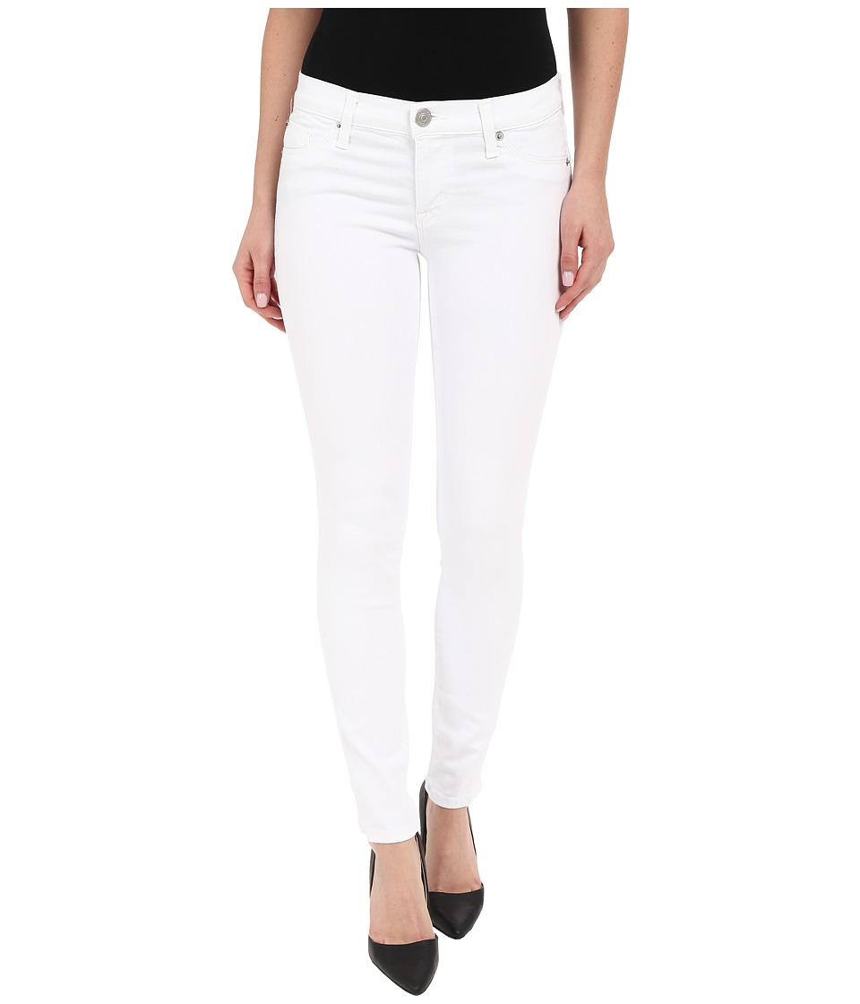 Hudson - Krista Ankle Skinny in White (White) Women's Jeans