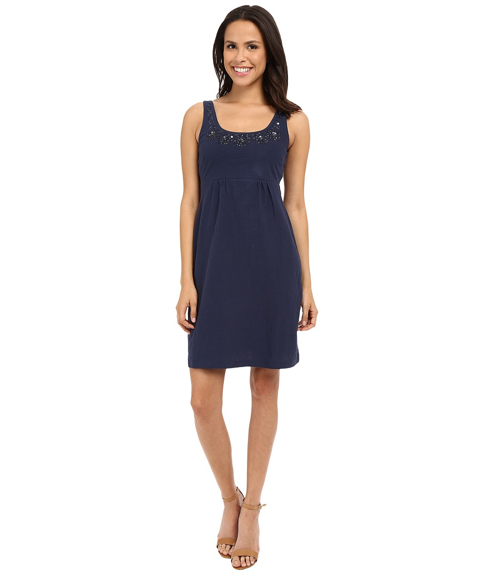 Tommy Bahama - Arden Jersey Embellished Dress (Ocean Deep) Women's Dress