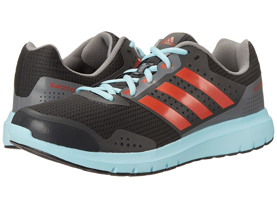 adidas - Duramo 7 M (Solid Grey/Solar Red/Blue) Men's Shoes