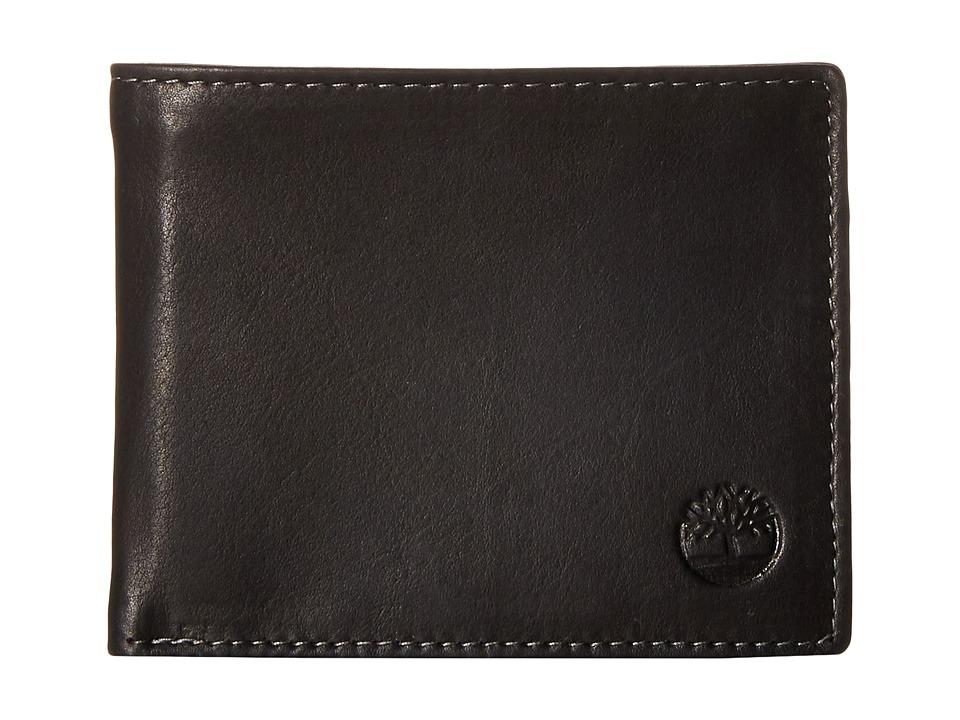 Timberland - Wellington Passcase (Black) Wallet Handbags