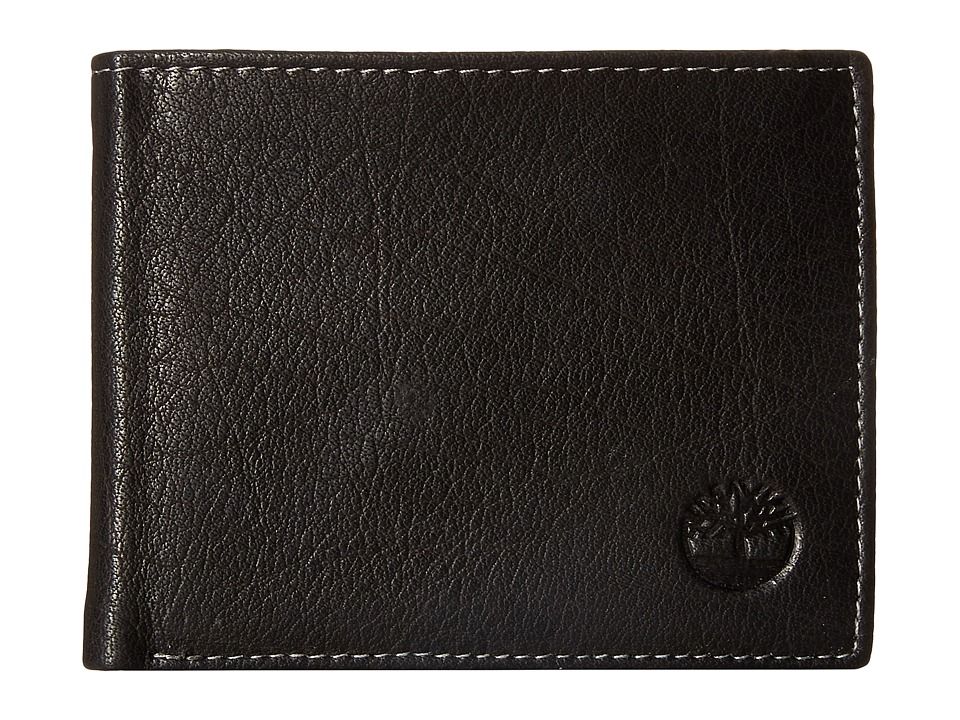 Timberland - Brisbane Passcase (Black) Wallet Handbags