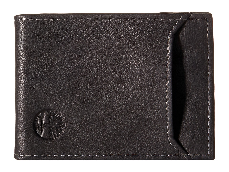 Timberland - Wellington Flip Clip (Black) Wallet Handbags