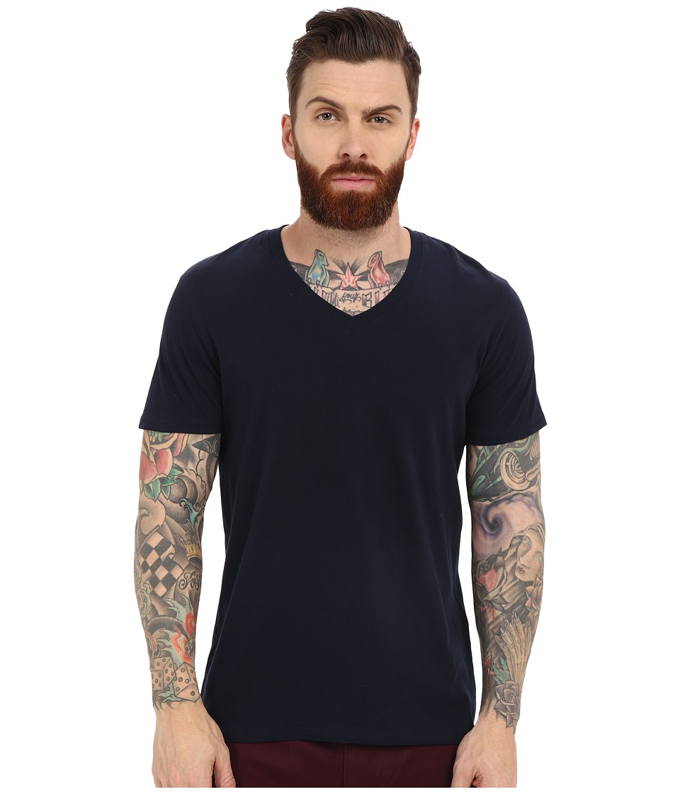 Ben Sherman - Short Sleeve Basic Tee MB12038 (Navy Blazer) Men