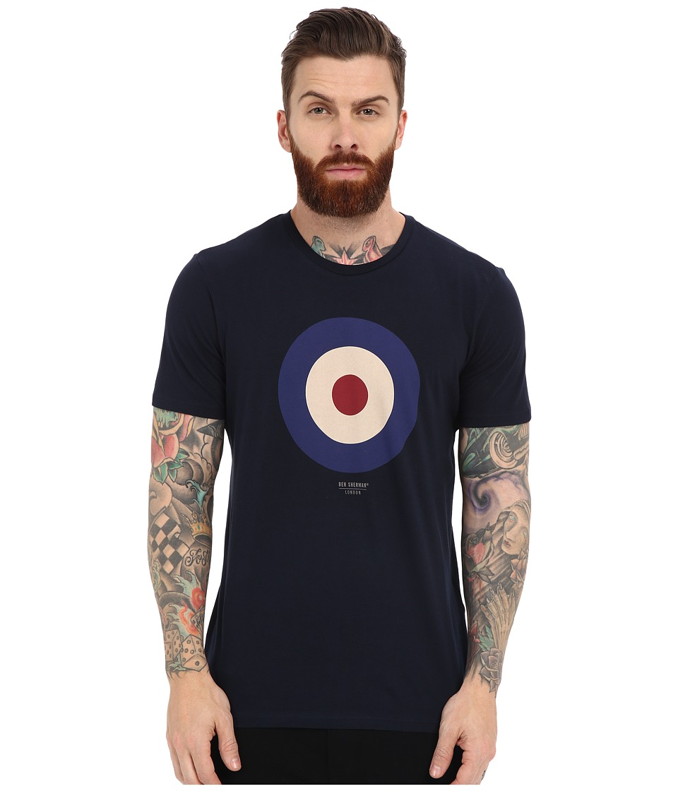 Ben Sherman - Short Sleeve Basic Target Tee MB12872 (Navy Blazer) Men's T Shirt