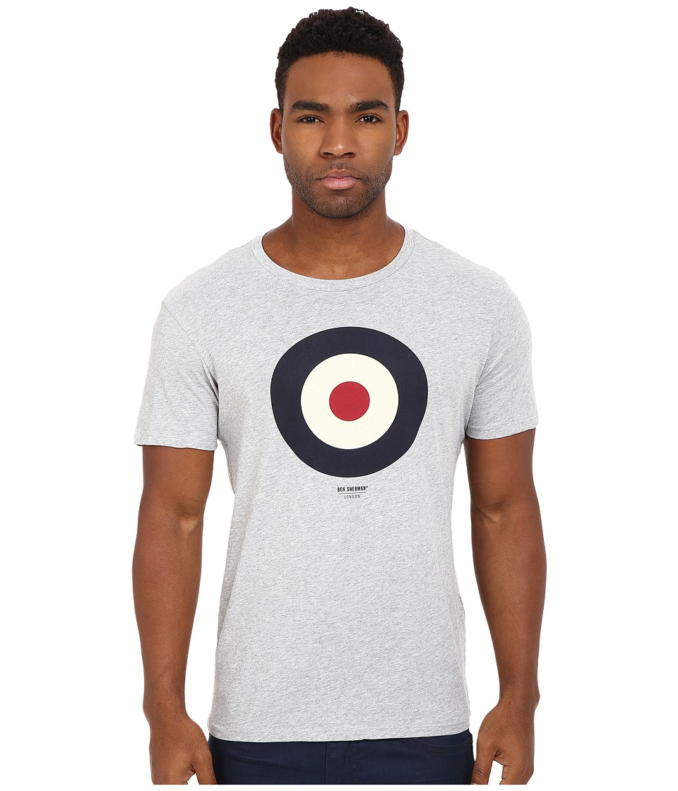 Ben Sherman Short Sleeve Basic Target Tee MB12872 (Oxford Marl) Men