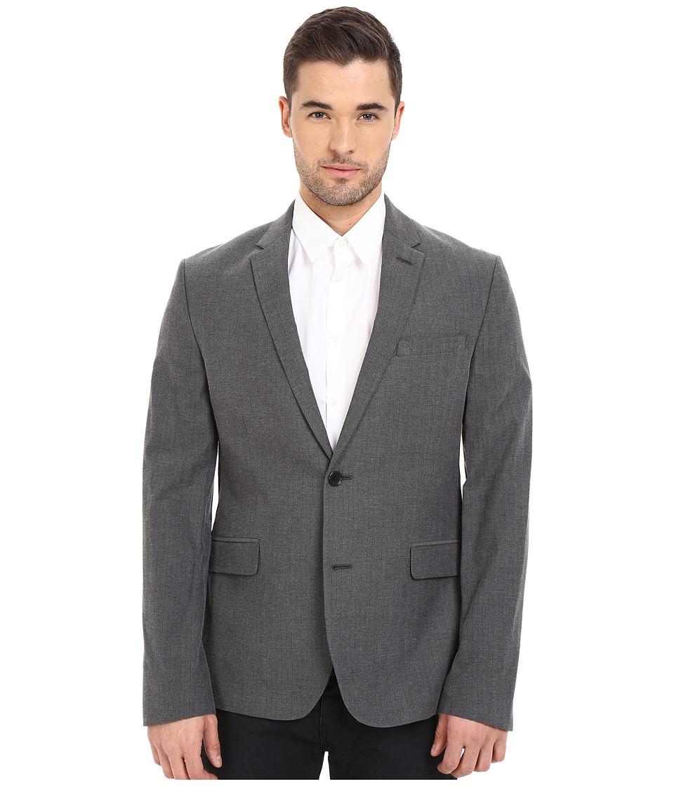 Ben Sherman - Herringbone Blazer MF12364 (Smoked Pearl) Men's Jacket