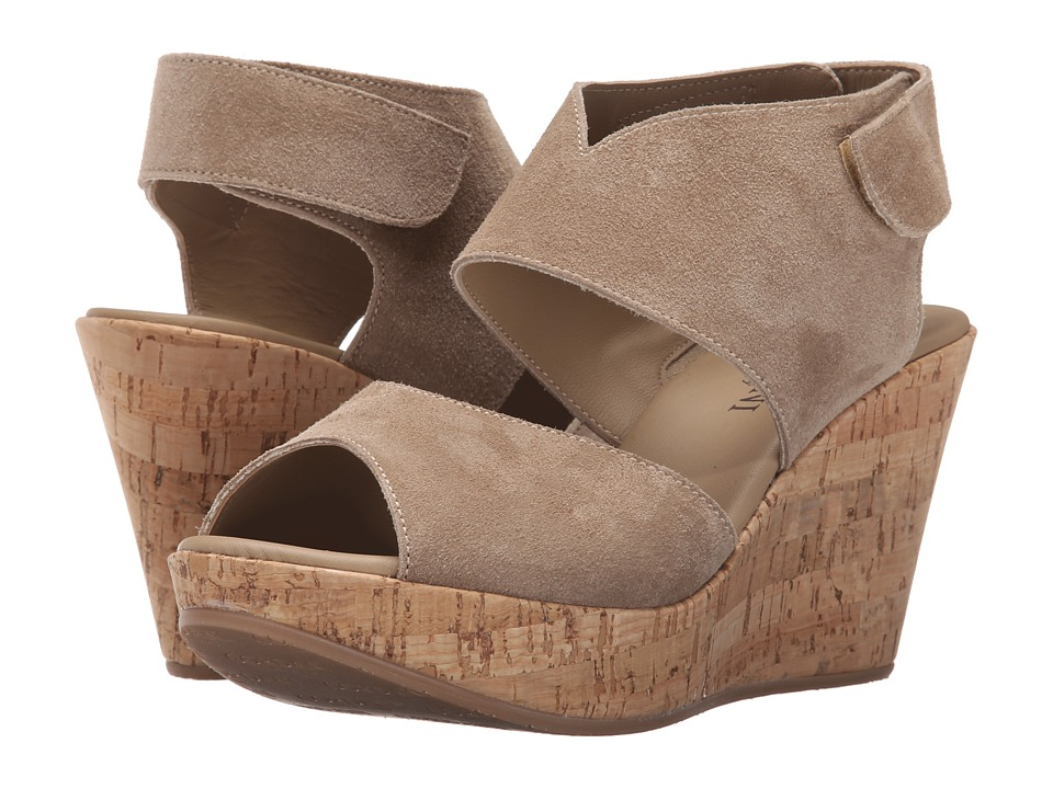 Cordani - Rhonda (Taupe Suede/Cork) Women's Wedge Shoes
