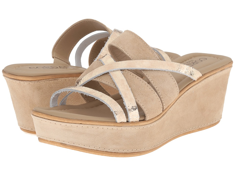 Cordani - Kalani (Crema/Platinum) Women's Wedge Shoes