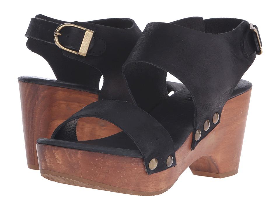 Cordani Zowie (Black Nubuck) High Heels