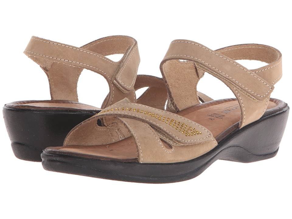 Spring Step - Caric (Taupe) Women's Wedge Shoes