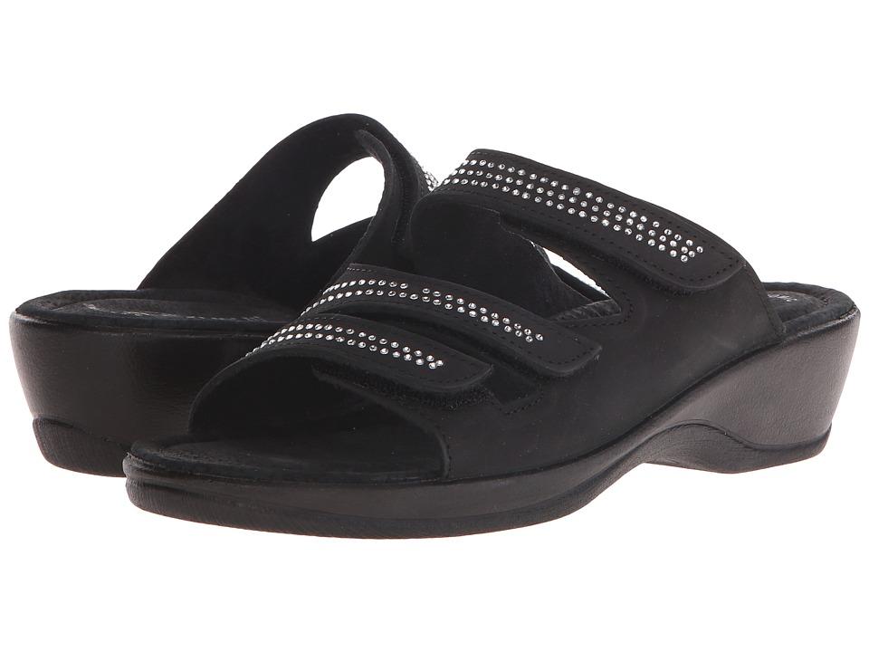 Spring Step - Chela (Black) Women's Shoes
