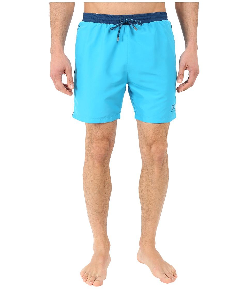 BOSS Hugo Boss - Starfish 10149099 01 (Teal) Men's Swimwear