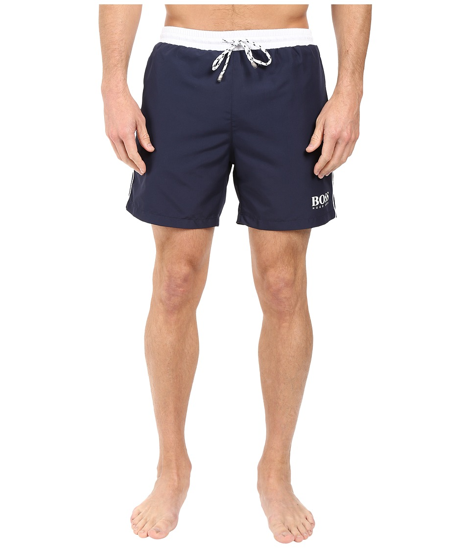 BOSS Hugo Boss - Starfish 10149099 01 (Open Navy) Men's Swimwear
