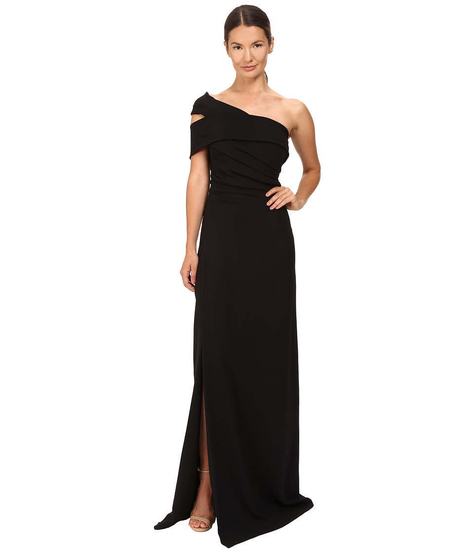 DSQUARED2 - Stretch Viscose Blair Gown (Black) Women's Dress